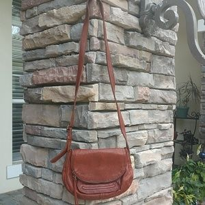 Lucky Brand boho brown handbag